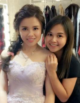 新妝化妝師 wedding bridal makeup hair hk _sugar@coolstylist-7